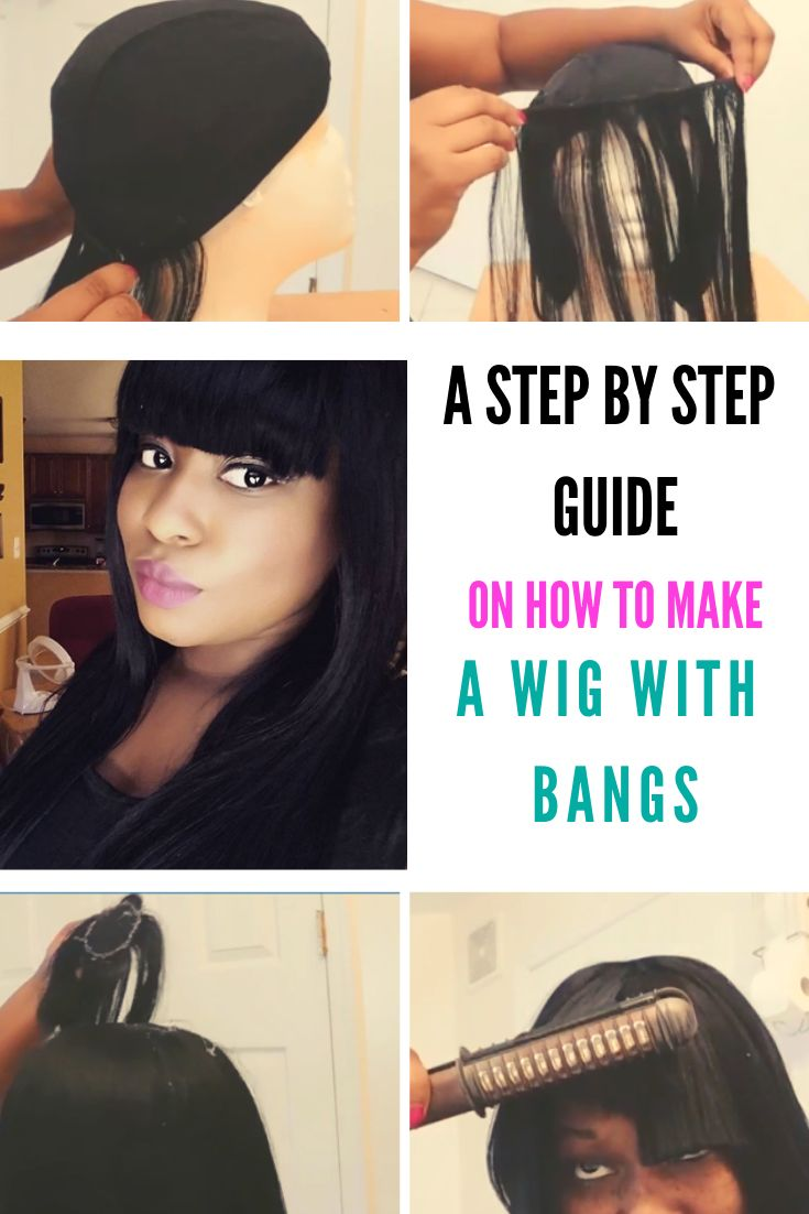 how to make a wig with closure step by step