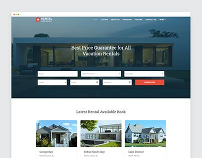 "Check out new work on my @Behance portfolio: ""Vacation Rental Website Responsive Templates on Behance"" http://be.net/gallery/44935049/Vacation-Rental-Website-Responsive-Templates-on-Behance"