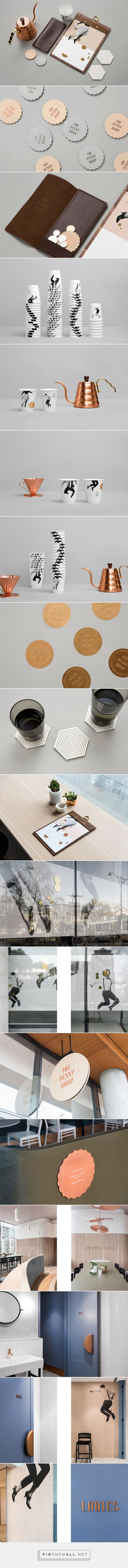 The Penny Drop Cafe on Behance