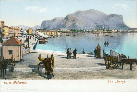 Palermo, Via Borgo, Edizione Francesco Verderosa - Palermo