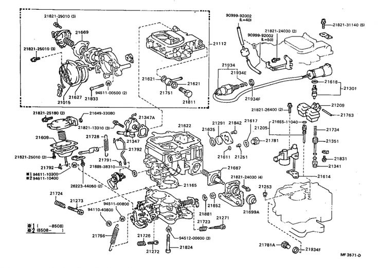 12  85 Toyota Diesel Truck Parts Diagram Truck Diagram