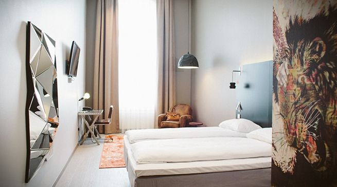 Bedroom at https://www.nordicchoicehotels.no/Comfort/Comfort-Hotel-Grand-Central/#