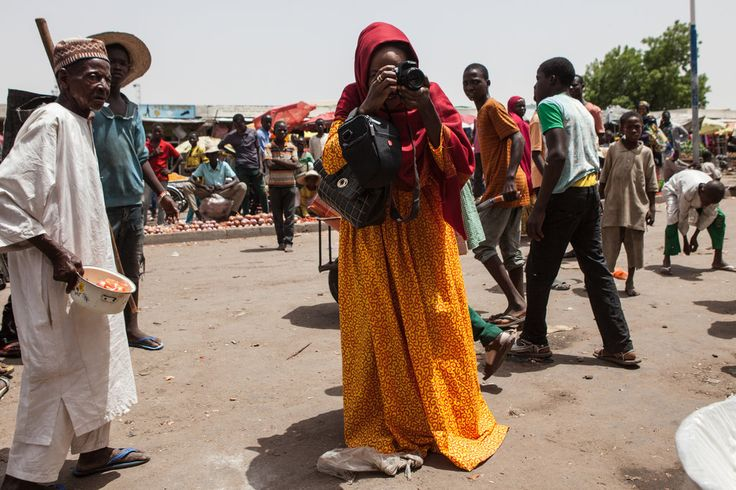 From Boko Haram's Birthplace, Instagram Posts Beyond 'Death and Despair' // A woman in violence-plagued Maiduguri, Nigeria, has developed a following by capturing residents' positive stories on Instagram — though they can be hard to come by.