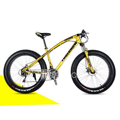 Vélo tout terrain Vélo de Neige Cyclisme 21 Vitesse 26 pouces/700CC 40 mm SHIMANO 30 Frein à Disque Fourche à Suspension de 2017 ? R$915.27