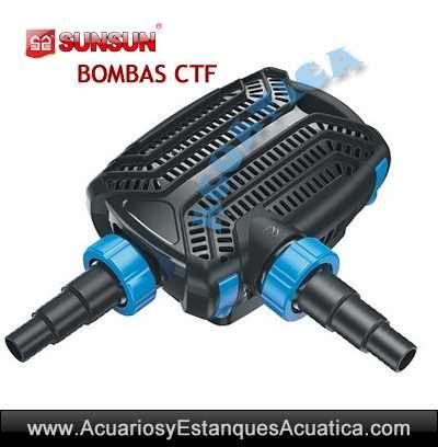 ** ENVIO GRATIS! 89€ ** SUNSUN CTF-5000B 5000l/h BOMBA http://acuariosyestanquesacuatica.com/bombas-de-agua-estanques/986-sunsun-ctf-5000b-5000lh-bomba-de-agua-acuarios-estanques.html