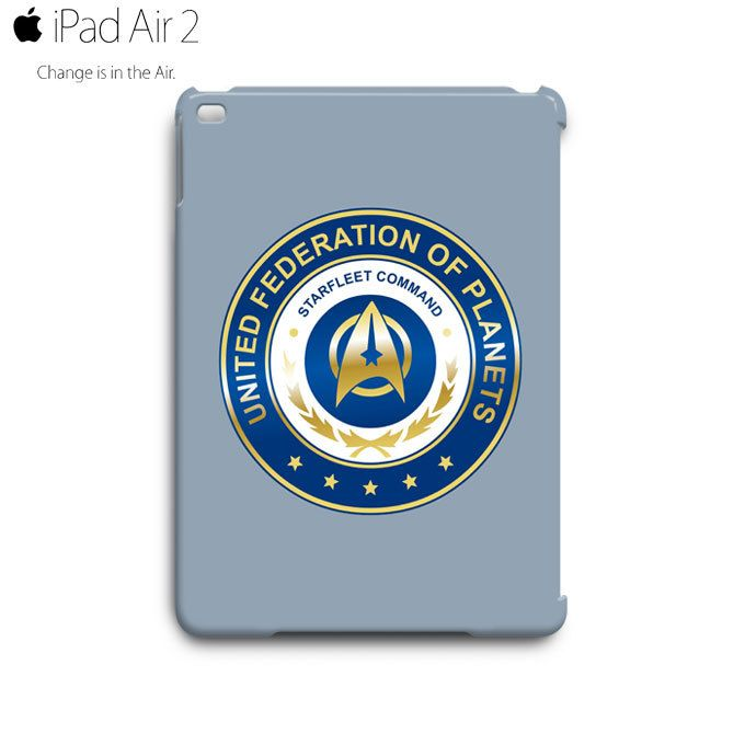 Starfleet Command Star Trek Logo iPad Air 2 Case Cover Wrap Around