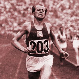 Emile Zatopek: The Czech long-distance runner's haul of four gold medals is far from a record, but astonishingly three of those came in one Olympics - the 1952 Helsinki Games. He produced a blistering last lap to come from fourth to win the 5,000m, then clinched gold in the 10,000m and marathon, in which he set an Olympic record.