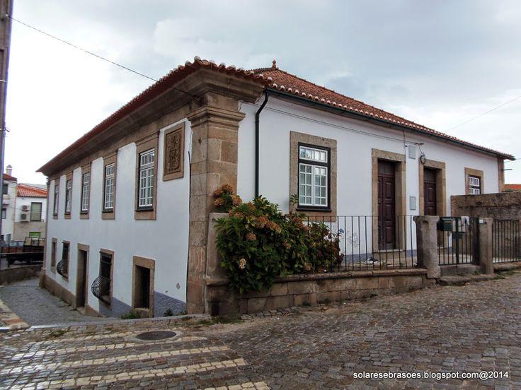 Solares e Brasões: Solar dos Carvalhos da Cunha - Moimenta da Serra - Gouveia