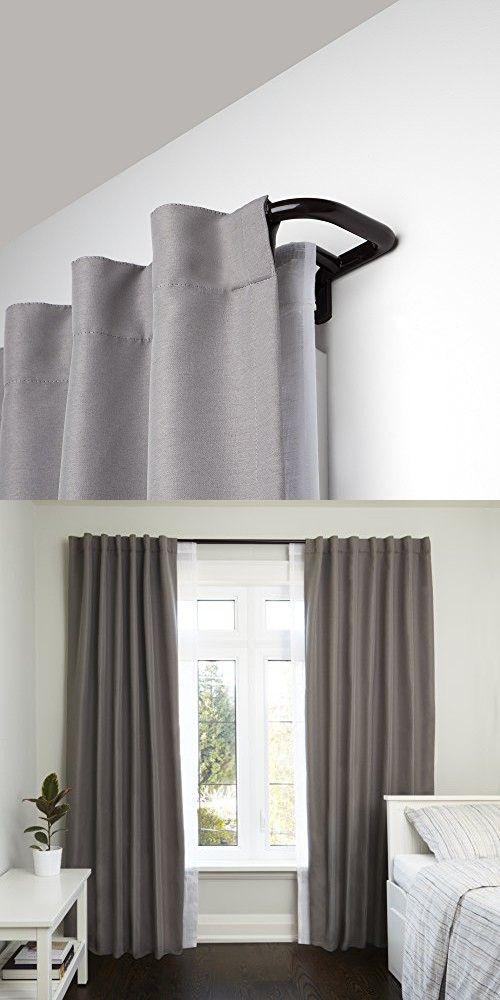 Best 25 Double Curtain Rods Ideas On Pinterest Curtain