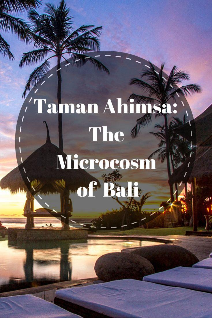 Taman Ahimsa, a 7-bedroom awe inspiring villa in Bali that is set to take your breath away.