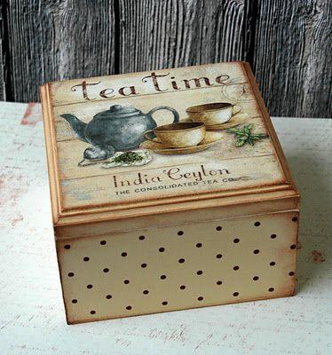 cajita de té