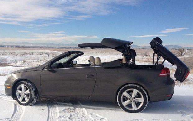 #Review: #2012 #VW #Eos #Lux – #Greek #Goddess meets a #Snow #Storm @Volkswagen USA