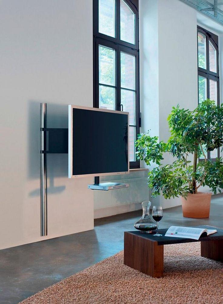 die besten 25 fernseher halterung ideen auf pinterest. Black Bedroom Furniture Sets. Home Design Ideas