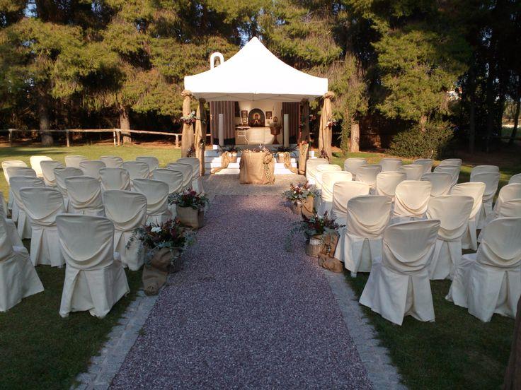 Autumn rustic wedding.