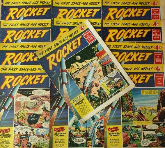 Rocket comics from 1956