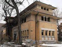 Фрэнк Ллойд Райт (Frank Lloyd Wright): Isidore H. Heller House, Chicago, Illinois (Дом Айседоры Геллер, Чикаго, Иллинойс ), 1896—1897