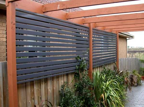 Privacy Fence Screen Patio Photo Galleries Hobby