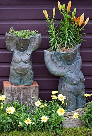 Naked Lady Planters For The Home And Garden Planters