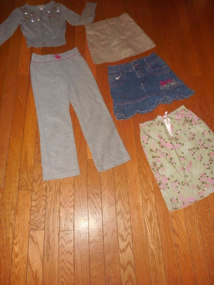Lot of Girls size 5/6X cute back to school clothes Skirts, Dress, Pants, Sweater #BonnieJeanChildrensplace2Breal #Everydaybacktoschool