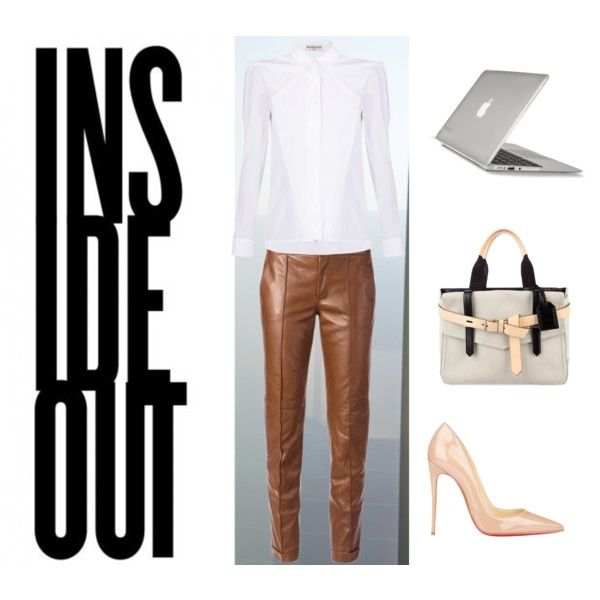 A fashion look from December 2014 featuring Balenciaga blouses, Gucci pants and Christian Louboutin pumps. Browse and shop related looks.