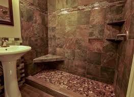 Image result for shower river rock floor
