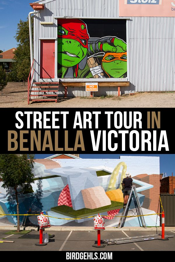 Benalla Street Art: A Guide to This Colourful Victorian Town
