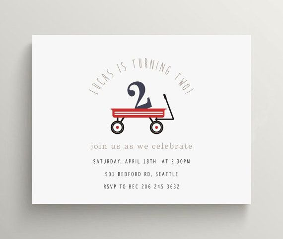38 best images about red wagon radio flyer party – Red Wagon Birthday Invitations