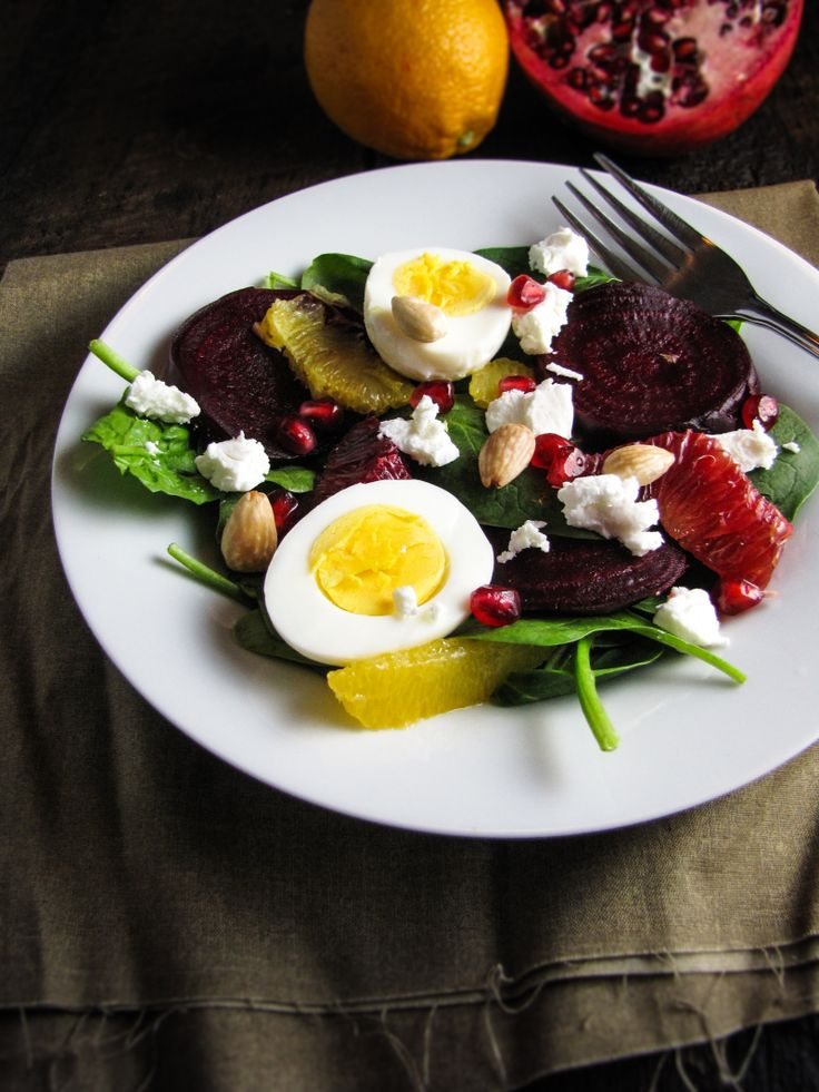 Pomegranate  Goat on sneakers Eggs  women Roasted black Cheese  sale Beet for with Orange and and Spinach Salad