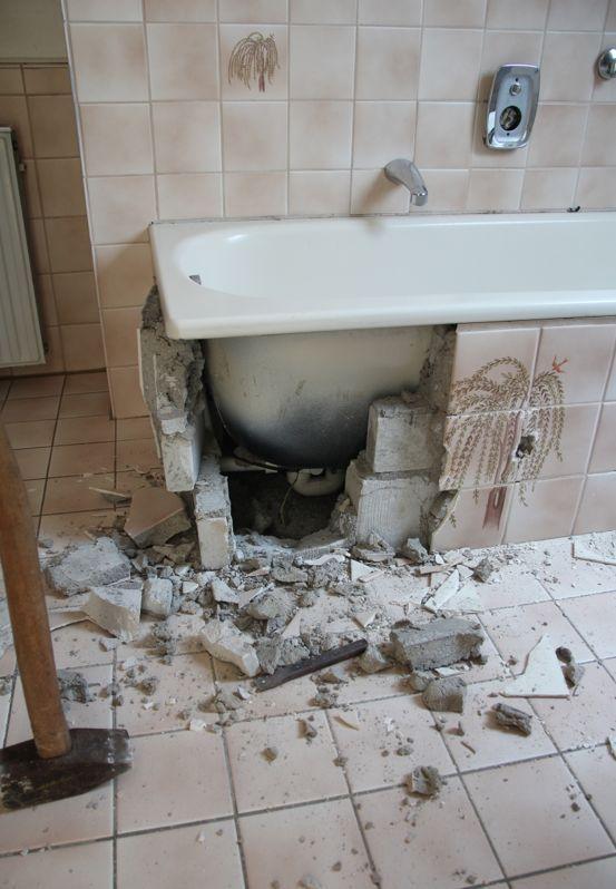 Badezimmer Selbst Renovieren Vorher Nachher Haus Pinterest