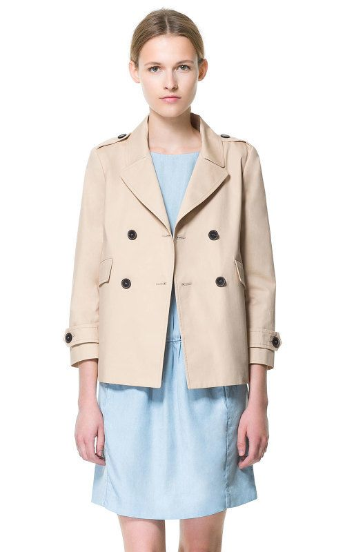 Aliexpress.com : Buy Fashion 2013 Trench Coat for Women Casual Double Breasted European Coat  V neck long sleeve Female Short Design Khaki Green from Reliable stylish winter jacket suppliers on Rose Town.