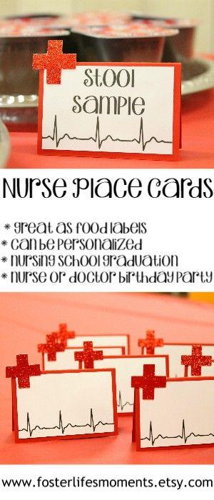 Krankenschwester-Party-Platzkarten