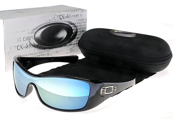Oakley Antix Sunglasses Black Frame Blue Polarized Lens $36.96 http://www.bigbootshotsale.com/