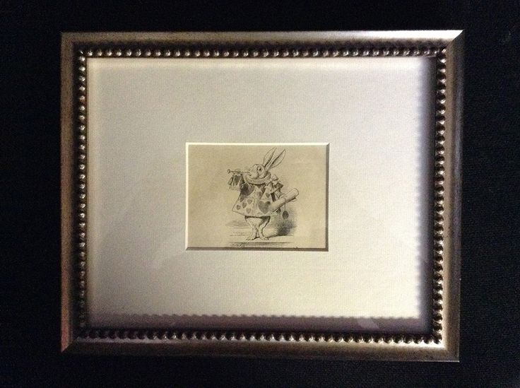 I picked up this 1872 print of the White Rabbit from Alice in Wonderland from a delightful shop called Marchpane in Cecil Court, London. I've been to this street several times; it's a celebration of art and literature.