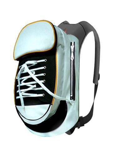 Black & White Sneaker backpack