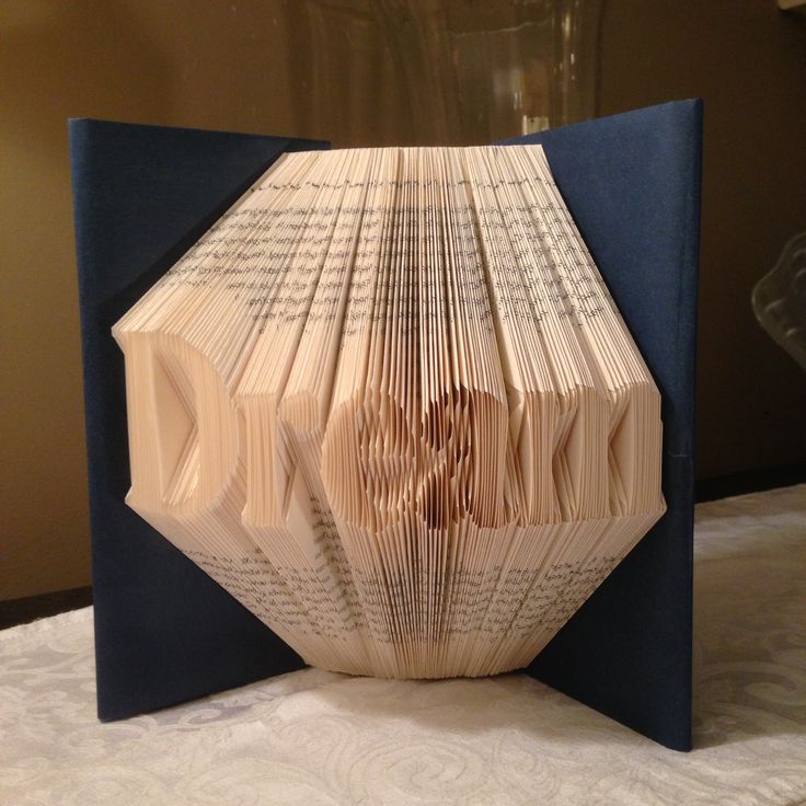 Dream folded book art