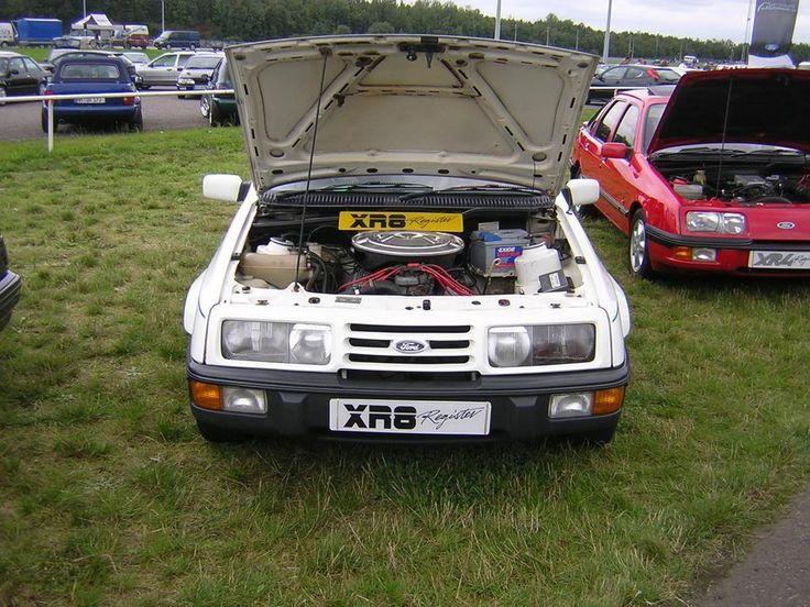 Ford Sierra XR8 5.0 V8 engine.