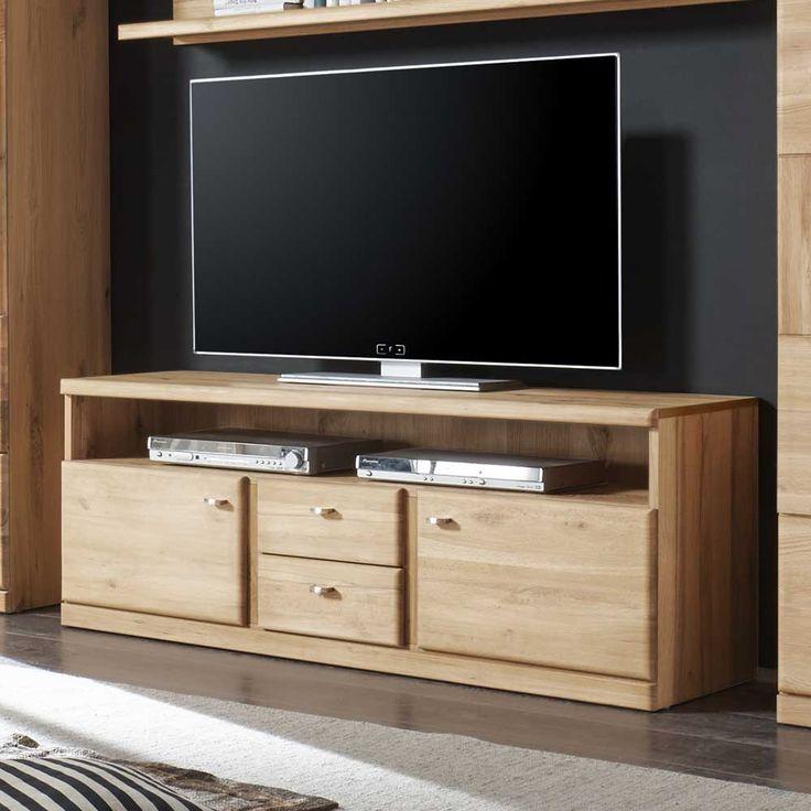 Epic TV Board aus Wildeiche Schubladen Jetzt bestellen unter https moebel ladendirekt de wohnzimmer tv hifi moebel tv lowboards uid udcbee cbd d b