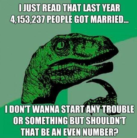 Funny Marriage Statistics