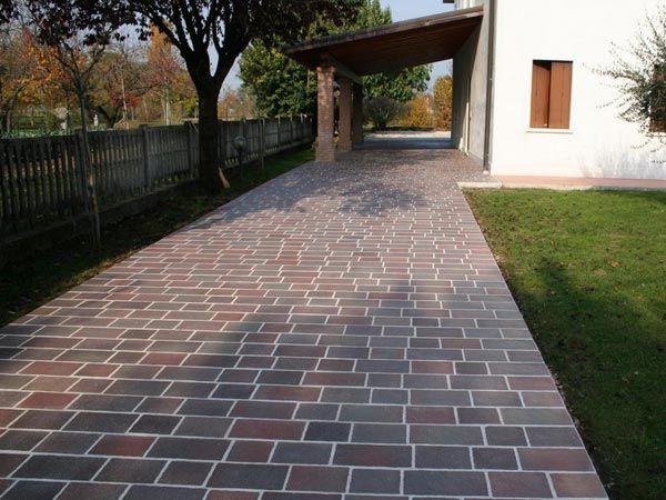 marciapiede casa porfido - Cerca con Google