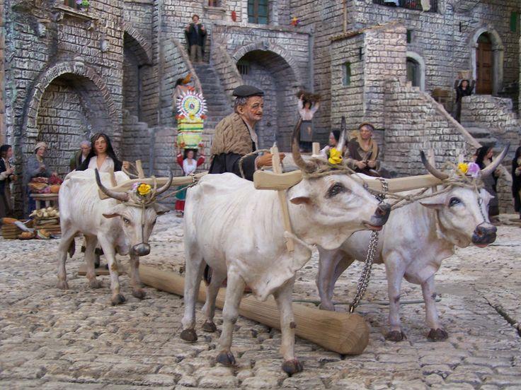 12 Days To Christmas 10of12 - Basilicata, Italy, Christmas Nativity, Presepe