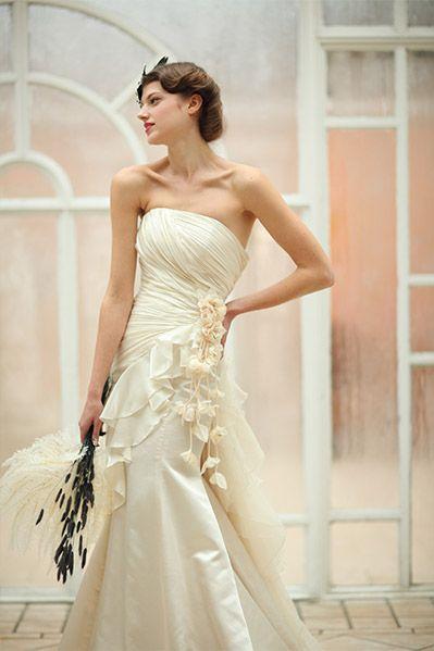 マーメイドドレス・スレンダードレスにオススメの髪型・アップの参考一覧❤