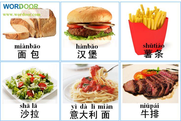 Китайские иероглифы картинки по теме еда