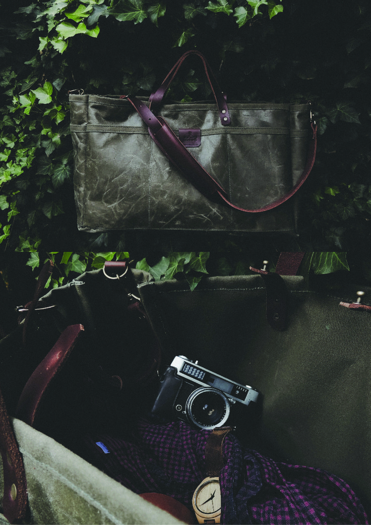 The Weekender in Olive Green.