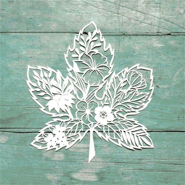 Autumn Flower/'s Leaves cutting dies metal die cutters Stencil UK seller