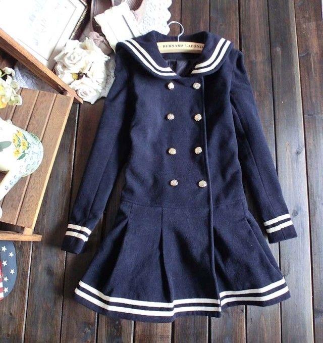 Sailor Lolita Coat from Quantum-Princess on Storenvy #cute #kawaii