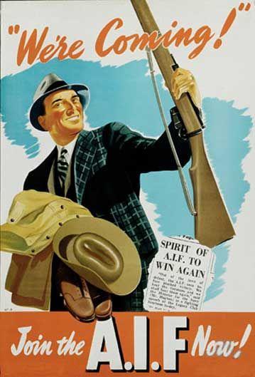 The reasons why australian men volunteer to enlist in world war i