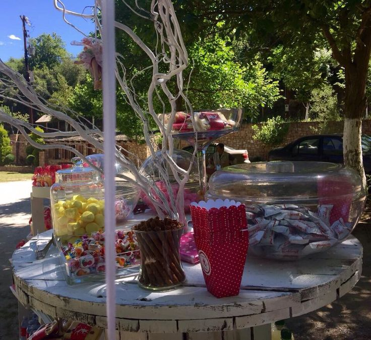 Baptism decoration candies
