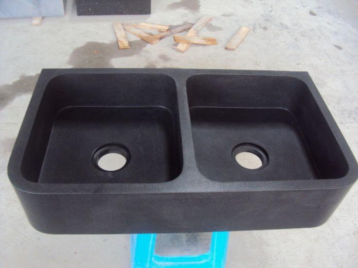 25 beste idee n over zwart graniet keuken op pinterest donkere keuken werkbladen zwart - Eiland zwarte bad ...