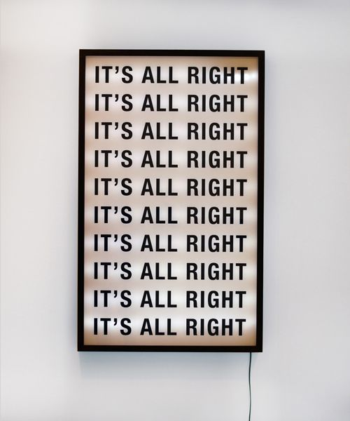 { it's all right }