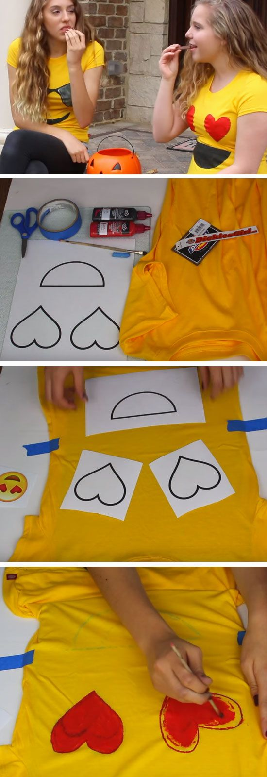 Emoji | DIY Halloween Costumes for Kids                                                                                                                                                     More